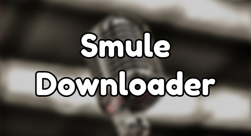 Smule Downloader | Online Smule Converter to Any Format | 4Hub